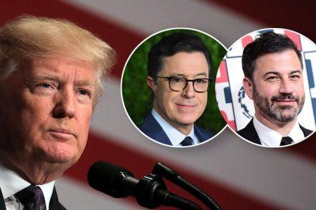 Donald Trump slams 'untalented' late-night hosts after Kimmel, Colbert mock him again – Fox News