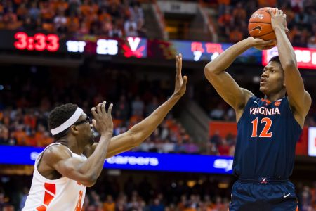 No. 2 Virginia ties school record with 18 made 3-pointers in rout of Syracuse – USA TODAY
