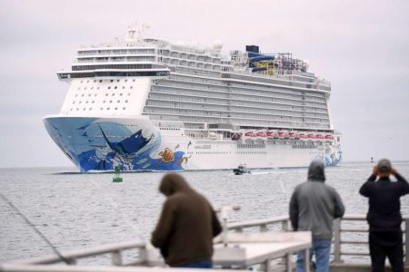 Several passengers hurt aboard Norwegian cruise ship after unexpected wind strikes – ABC News