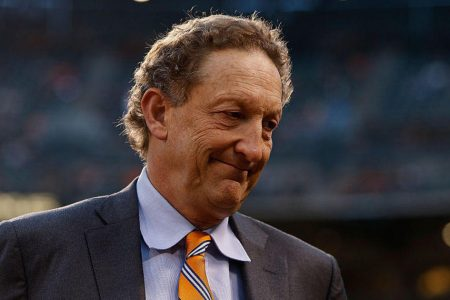 Larry Baer wife video shows San Francisco Giants CEO pulling his wife Pam to the ground today – CBS News