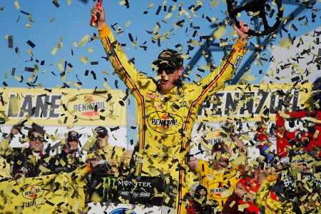 Joey Logano wins 'intense' NASCAR Cup Las Vegas race – Fox News