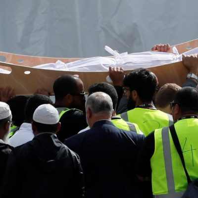 New Zealand mosque shootings: Father and son among first victims to be buried days after deadly terror attack – CBS News